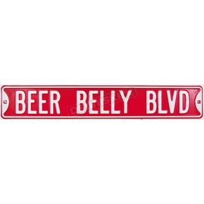 Mustang Beer Belly Parking Sign - 62485