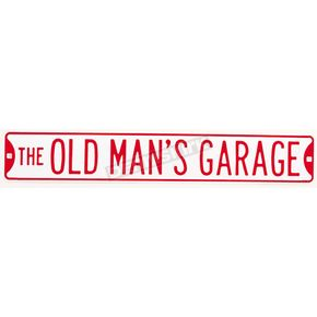 Mustang Old Mans Garage Parking Sign - 64126