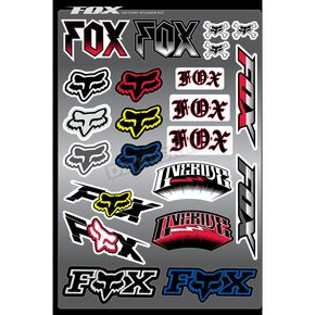 Fox Victory Sticker Sheet Kit - 14508-000-NS