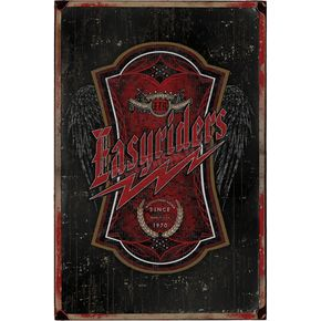Easyriders Roadware Bolt Vintage Tin Sign - 7333