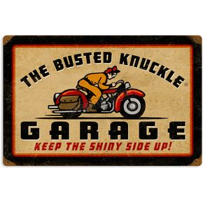 Mustang Busted Knuckle Parking Sign - 64024