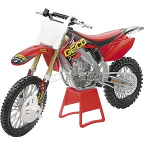 New Ray Toys Geico Honda CRF250R Lites 1:12 Scale Die-Cast Model - 57127