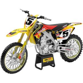 New Ray Toys Rockstar/Makita/Yoshimura Suzuki/Ryan Dungey 1:6 Scale Die-Cast Model - 49343