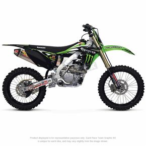 Pro Circuit 2014 Monster Energy/Pro Circuit Team Graphic Kit w/Seat Cover - DK1485T