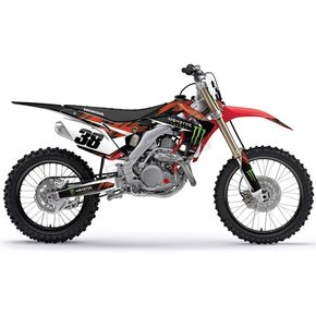 Factory Effex Monster Energy Graphics Kit - 18-12336