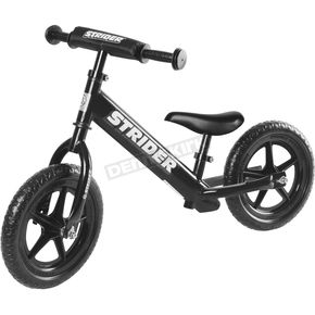 Strider Kids Black 12 in. Sport Balance Bicycle - ST-S4BK