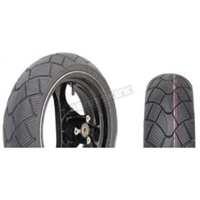 Vee Rubber VRM-351 3.50-10 Blackwall Scooter Tire - 0600-0050