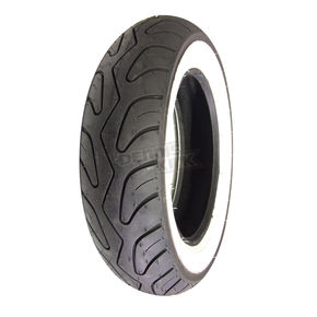 Prima Front and Rear Prima 100/90-10 Wide Whitewall Scooter Tire - 0600-0057