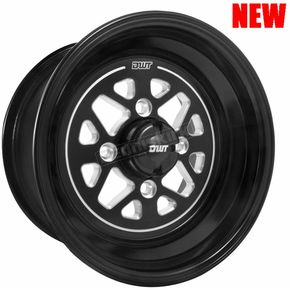 DWT Douglas Wheel Stealth 12 x 7 Wheel - 987-40B