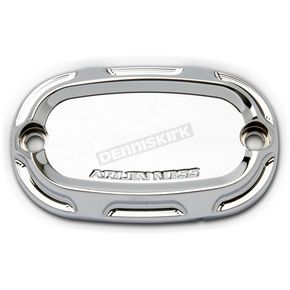 Arlen Ness Chrome Beveled Front Clutch Master Cylinder Cover  - 03-429