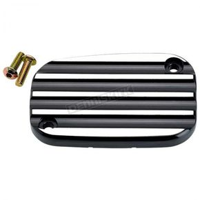 Joker Machine Hard Black Finned Front Master Cylinder Cover - 08-002B