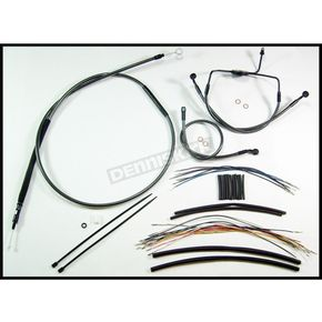 Magnum Black Pearl Designer Series Handlebar Installation Kit for Use w/15 in. - 17 in. Ape Hangers (Non-ABS) - 487302