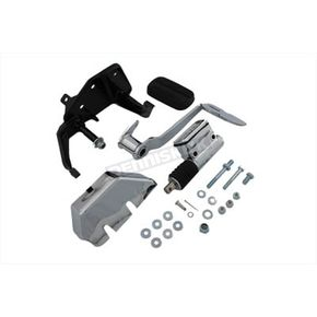 V-Twin Manufacturing Brake Control Kit w/Chrome Master Cylinder - 22-0507