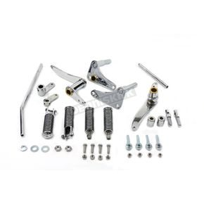 V-Twin Manufacturing Chrome Forward Control Kit - 22-0700