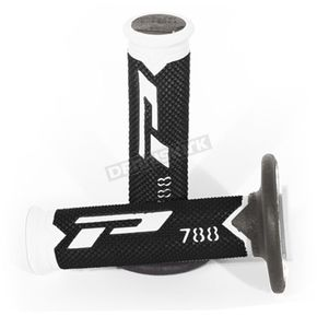 White/Black 788 Extra Slim Triple Density Grips - PA078800WNT