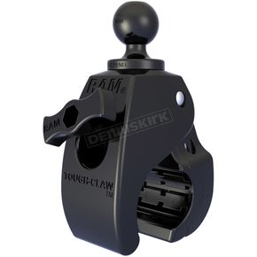 Ram Mounts Small Tough-Claw w/1 in. Diameter Rubber Ball - RAP-B-400