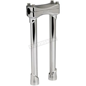 Biltwell Chrome 12 in Murdock Risers - MR-012-HD-CP