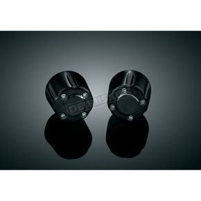 Kuryakyn Black Grip End Weights - 6339