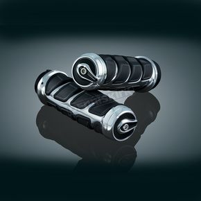 Chrome Kinetic Grips for Models w/Dual Throttle Cables - 6350