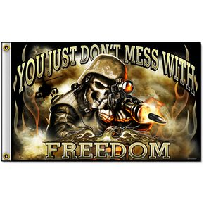 Skull Soldier Flag - FGA1046