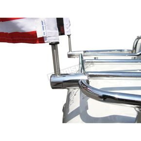 Extended Style Luggage Rack 1/2 in. Flag Mount For 9 in Pole - RFM-RDHB12