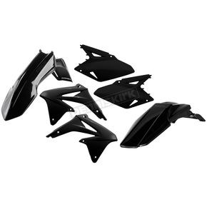 Acerbis Black Standard Replacement Plastic Kit - 2113820001