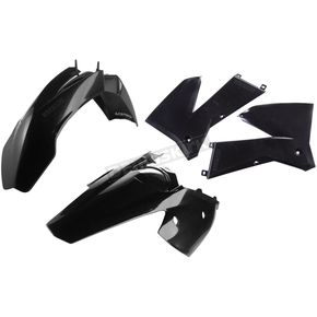 Acerbis Black Standard Replacement Plastic Kit - 2041030001