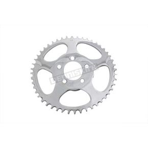 V-Twin Manufacturing Chrome 5-Spoke Rear Sprocket - 19-0218