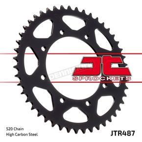 JT Sprockets Rear 520 47 Tooth C49 High Carbon Steel Sprocket - JTR487.47