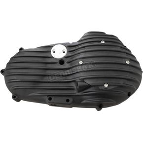 Speed Merchant Black Snatch Ribbed Outer Primary Cover - PCXL/R/B