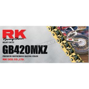 RK Gold 420 MXZ4 Heavy Duty Chain - GB420MXZ4-120