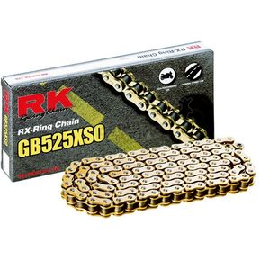 RK Gold 525 XSO X-Ring Chain - GB525XSO-112