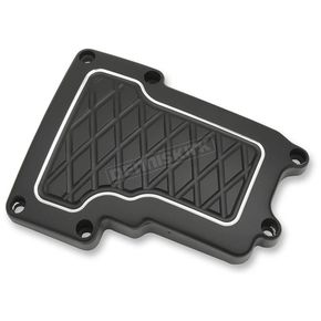 Thunder Cycle Designs Black Anodized Transmission Top Cover - TC-929B