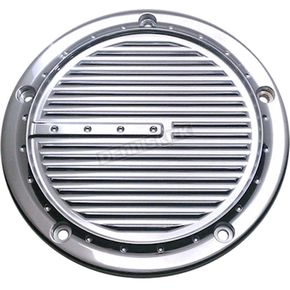 Covingtons Customs Chrome Dimpled 5-Hole Derby Cover - C1075-C