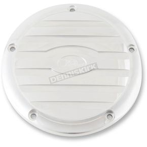 Ken's Factory Polished Ribbed 5-Hole Derby Cover - 8-920