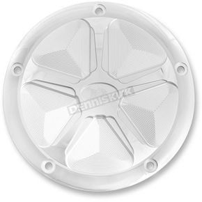 Ken's Factory Polished Spoke 5-Hole Derby Cover - 8-922