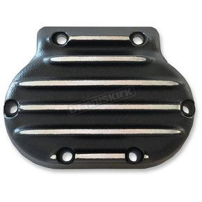 Speed Merchant Black/Natural Snatch Ribbed Transmission Side Cover - GB5/R/BC