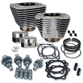 S&S Cycle Silver 883cc to 1200cc Hooligan Kit - 910-0607