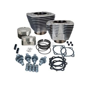 S&S Cycle Silver 1200cc to 1250cc Hooligan Kit  - 910-0609