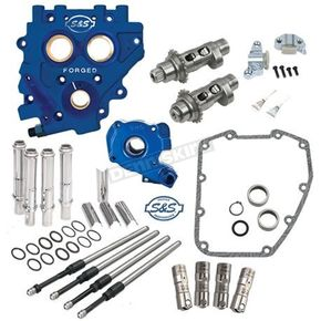 S&S Cycle 583CE Easy Start Chain Drive Cam Chest Kit w/Plate - 330-0545