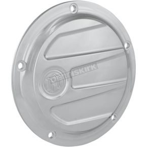 Chrome Scallop Derby Cover  - 0177-2058-CH