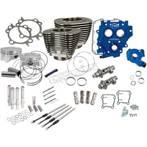 110 in. Black Power Package Big Bore Kit for Chain Drive - 330-0668
