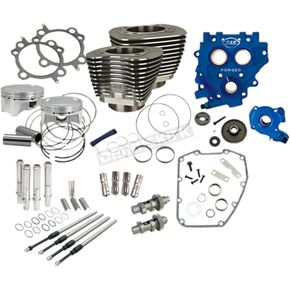 110 in. Black Power Package Big Bore Kit for Gear Drive - 330-0669