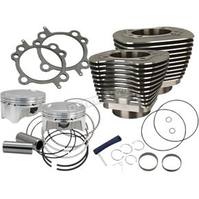Wrinkle Black 4 in. Sidewinder Big Bore Kit - 910-0651