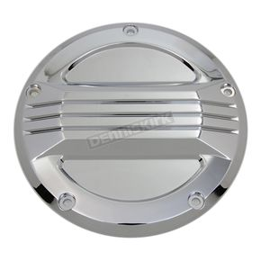 Chrome Air Flow Derby Cover - 42-1376