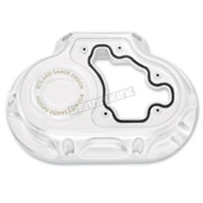 Roland Sands Design Chrome Clarity Hydraulic Actuated Transmission Cover - 0177-2048-CH