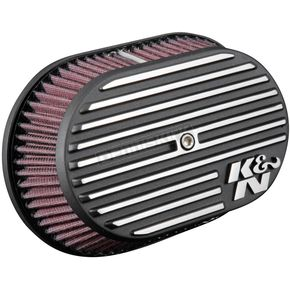 Black RK Series Street Metal High Flow Air Intake System - RK-3956