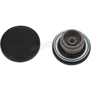 Black Screw-In Vented Gas Cap - 03-0305GB-A
