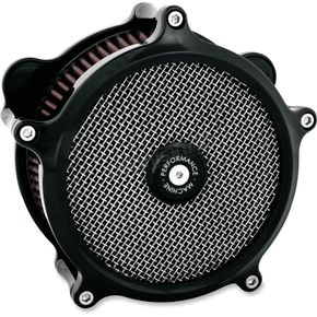 Black Super Gas Air Cleaner Kit - 0206-2151-B
