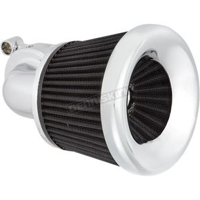 Chrome Velocity 90 Degree Air Cleaner Kit - 600-029